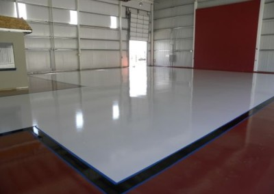 Hangar - garage floor coating