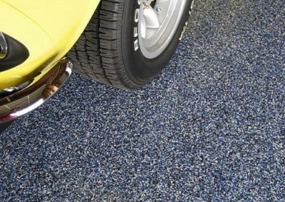 Garage Floor Coating close-up