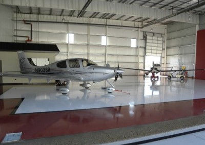 Hangar - floor coating